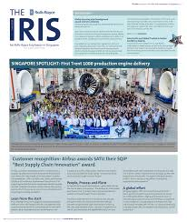 roll royce seletar the iris newsletter u2014 tom design u0026 communications