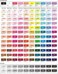 prismacolor colored pencil color chart google search colored