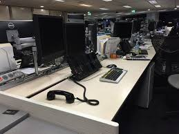 Sit Stand Electric Desk by Recent Project Nab Trading Floor Sit Stand Electric Desks Seated