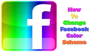 how to change your facebook color scheme in google chrome youtube