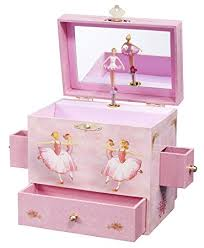 Shaped Box Toy Plan by Amazon Com Enchantmints Ballerina Musical Jewelry Box Toys U0026 Games