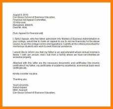 example of appeal letter writing an appeal letter sample appeal
