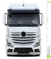 mercedes actros white truck mercedes actros front view stock photo image 75147774