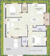 1456 sq ft 2 bhk floor plan image praneeth pranav meadows