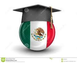 graduation cap and mexican flag stock illustration image 86768502