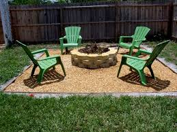 Backyard Flagstone Patio Ideas Flagstone Patio Ideas Onbudget With Unique Round Fire Pit For On A