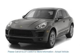 porsche macan sunroof grey porsche macan in ohio for sale used cars on buysellsearch