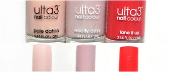 my ulta3 nail polish collection the beauty collection