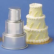 wedding cake pans parrish magic line 3 mini tier mini aluminum cake pan