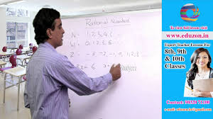 rational numbers 8th class mathematics youtube