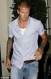 david beckham ocd biography is david beckham s shirt tucking trick more to do with his
