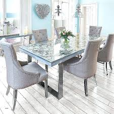 modern grey dining table dining room chairs modern awesome ideas six grey dining chair