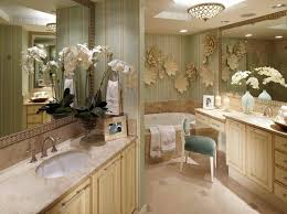 Bathroom Flowers And Plants Have A More Creative Bathroom Simple Bathroom Decor Ideas