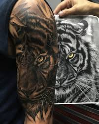 238 best tattoo tiger cat images on pinterest tattoo designs