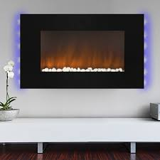 Led Fireplace Heater by 1500w Heat Adjustable 36