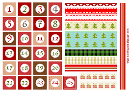 free printable advent calendar template u2013 blank calendar 2017