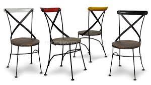 m chaises chaise bois et metal m tal color la bistrot cardiff mobilier moss 12
