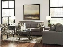 3 Pc Living Room Set Furniture Tibbee Slate Pebble 3pc Living Room Set The