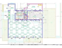 dining room restaurant hotel eatery 2d dwg plan for autocad
