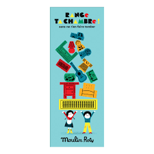 d ta chambre jeu d équilibre range ta chambre multicolore moulin roty jouet