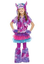 Monster Halloween by Girls Polka Dot Monster Costume Halloween Costumes