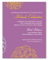 mehndi invitation wording mehndi insert cards on 100 recycled paper sacred colors by