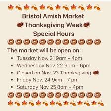 the bristol amish market home
