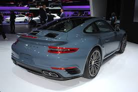 porsche 911 turbo s 2017 detroit 2016 porsche 911 turbo and turbo s gtspirit