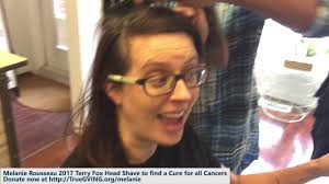 rousseau 2017 terry head shave find a cure for all