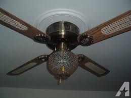 antique brass ceiling fan 52in empire style antique brass flush mount ceiling fan for sale in