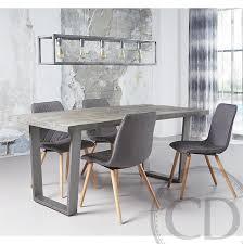 chaises grise chaise design grise equinox sur cdc design