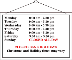 opening times for fen farm supplies
