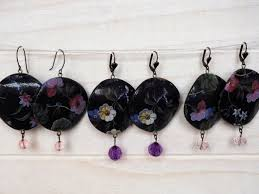 decoupage earrings season 2017 bijotti ciciotti jewelry