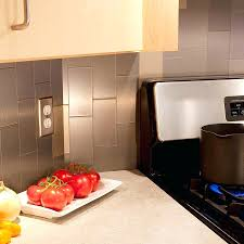 kitchen panels backsplash aluminum backsplash tile aluminum panels stainless steel kitchen