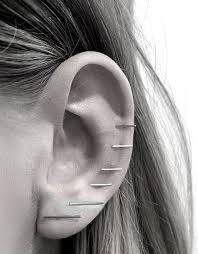 studs for ears bar earrings bar earrings bar studs ear piercings ears bling