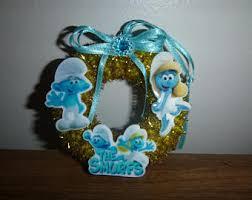 smurf ornament etsy