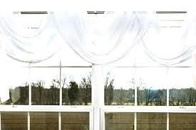 Sheer Scarf Valance Window Treatments Scarf Swag Window Treatments Twisted Scarf Sheer Scarf Valance