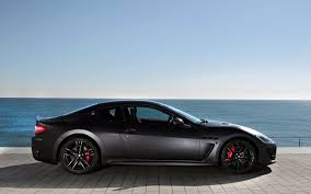 all black maserati 2012 maserati granturismo information and photos zombiedrive