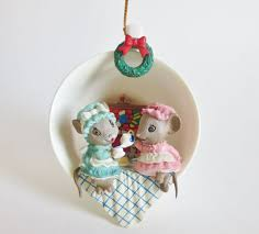 265 best enesco images on mice ornament and
