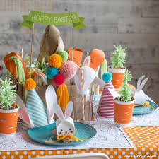 Easter Table Decor How To Set A Kid U0027s Easter Table