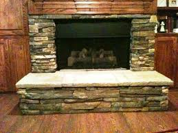 stone veneer panels fireplace u2014 jburgh homes best stone veneer
