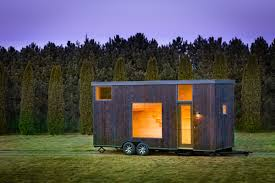 tiny house is a calming blank slate curbed