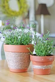jute flower pots craft camp skip to my lou