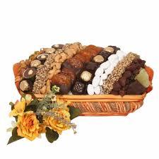 Nut Baskets Large Israeli Chocolate Dried Fruit U0026 Nut Basket Israel Only