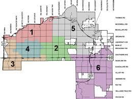 mesa az map central mesa emerging as development hotspot