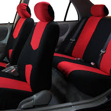 nissan juke seat covers 8 piece lowback flat cloth full set auto seat covers ebay