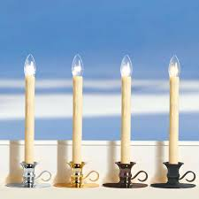 battery operated window lights window candles with timer vintage cordless led candles battery