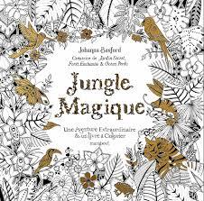 Carnet de coloriage la jungle magique  la Ruche des Passions