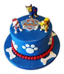 fondant cake paw patrol fondant cake rashmi s bakery