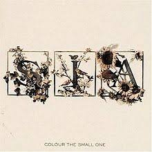 small photo album colour the small one